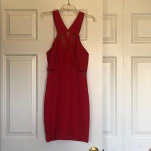 Red BCBG generation short dress